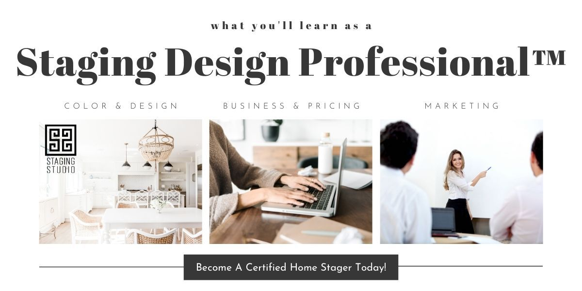 what i will learn as a home stager professional course