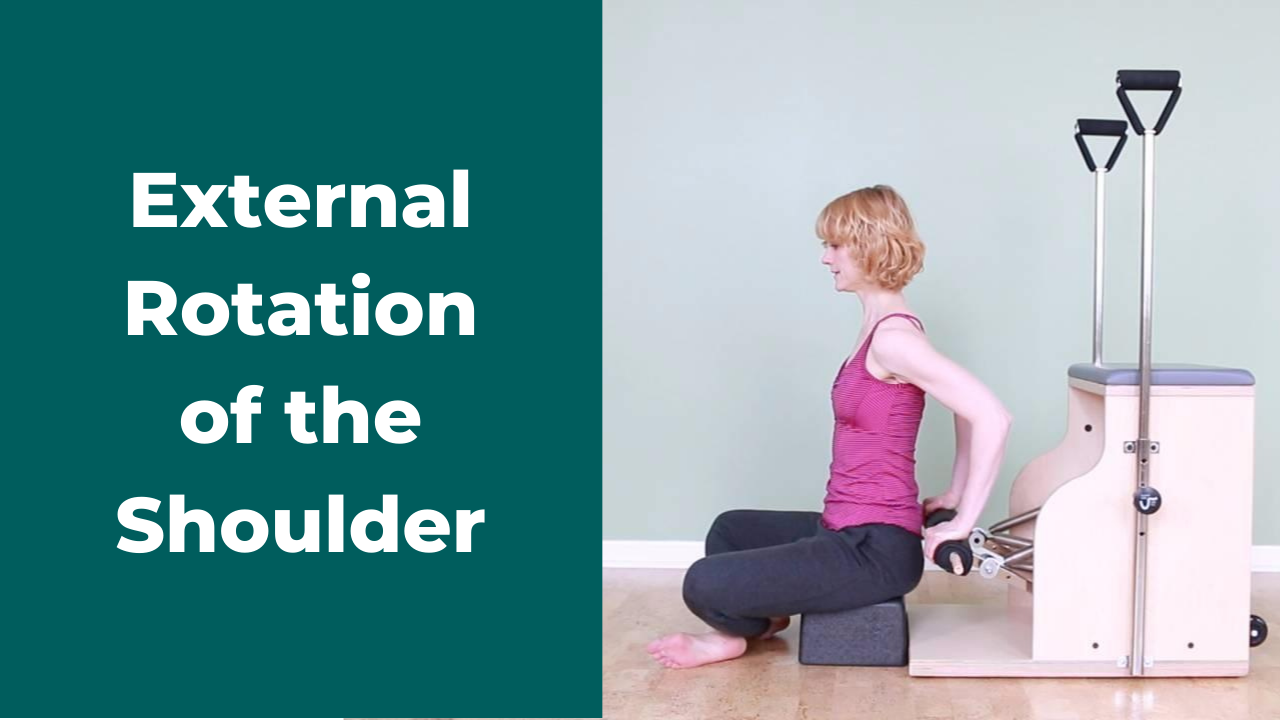 Pilates Exercises To Improve External Rotation of the Shoulder