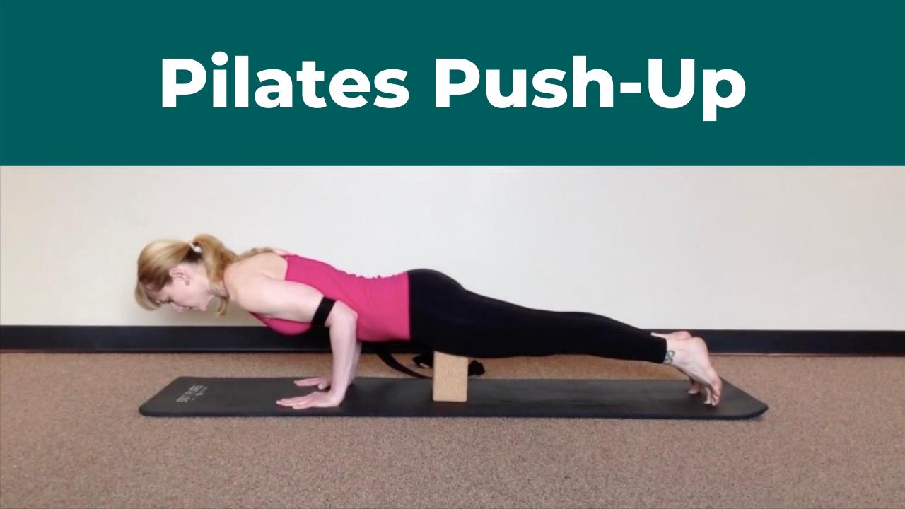 Pilates Push-up Shoulder Strength