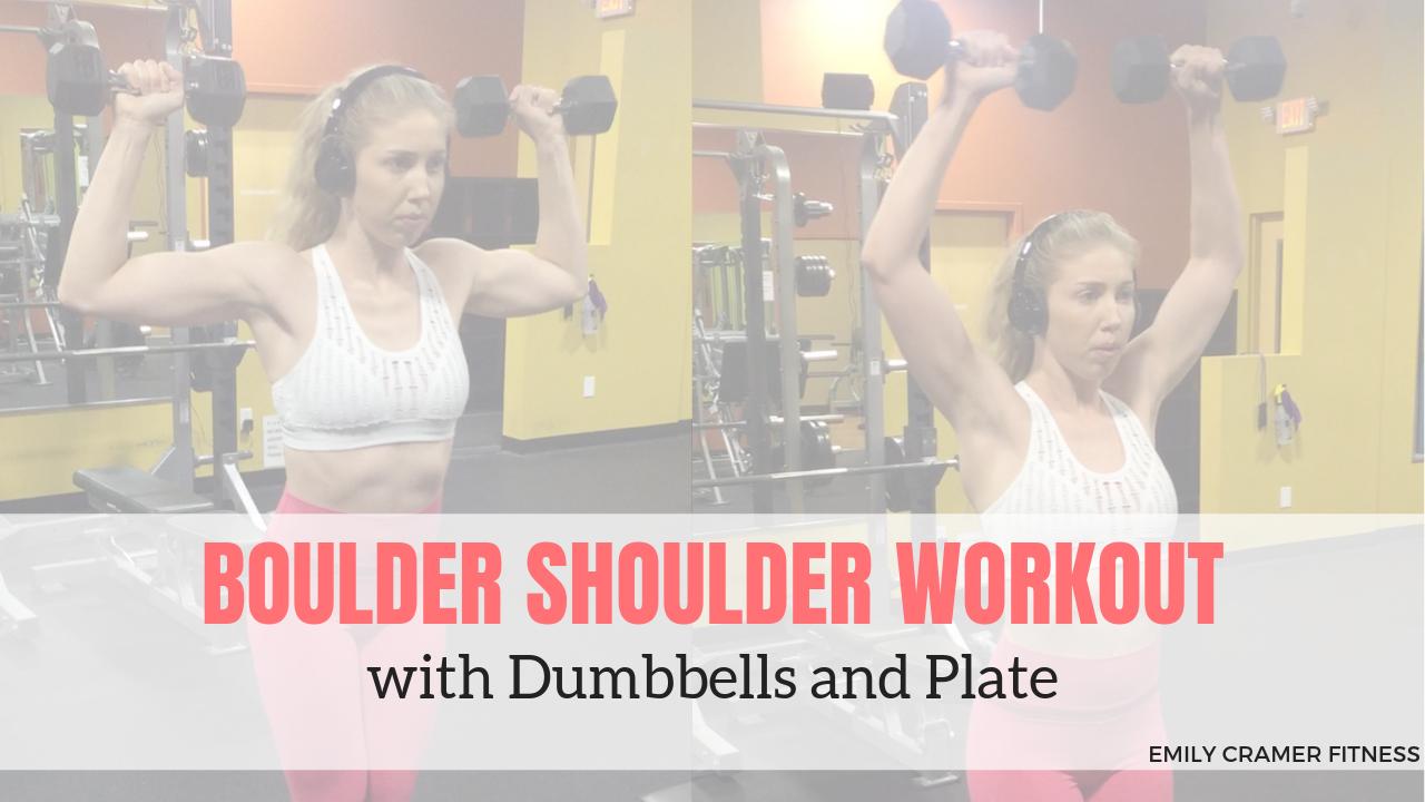 Back & Shoulder Workouts - cover