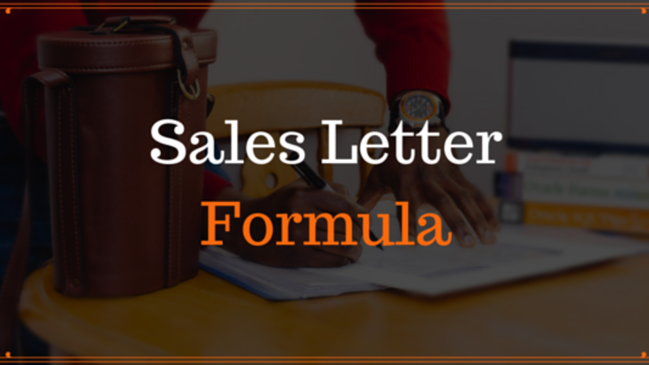 9 Tips To Write A Better Sales Letter