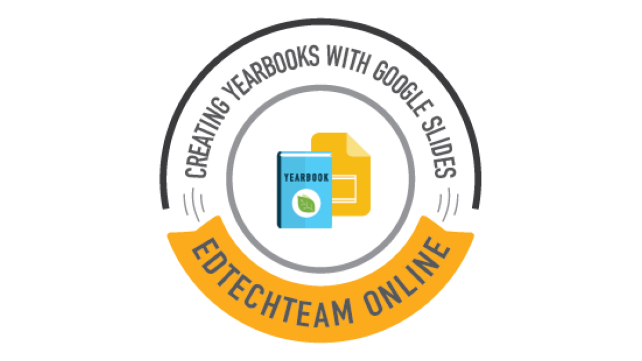 Get 50% off the Google Slides Yearbook Course 11/23-11/26
