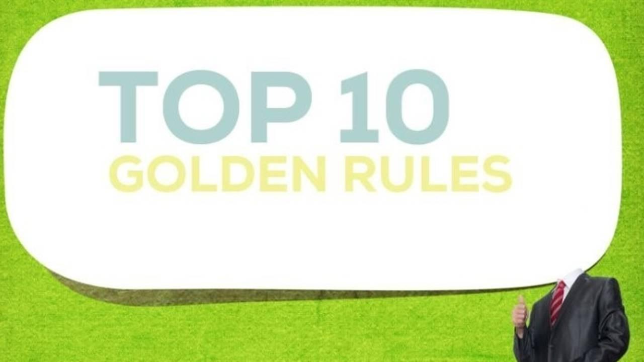 10 золотых правил бизнеса: личный опыт Кондрашова Станислава Дмитриевича