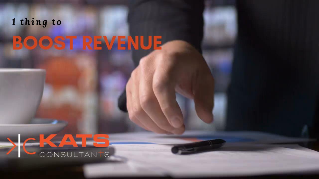 Kats Consultants Weekly Video Tips