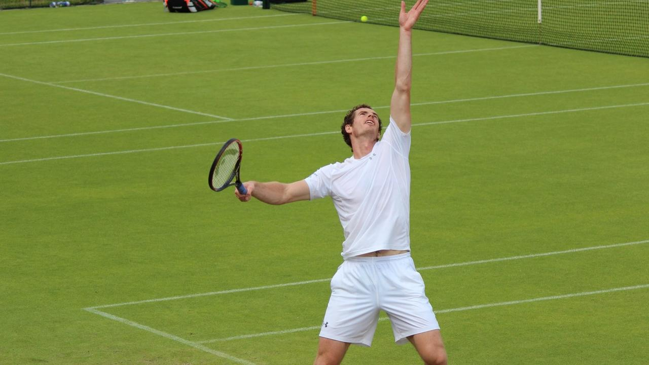 image of tennis exercises
