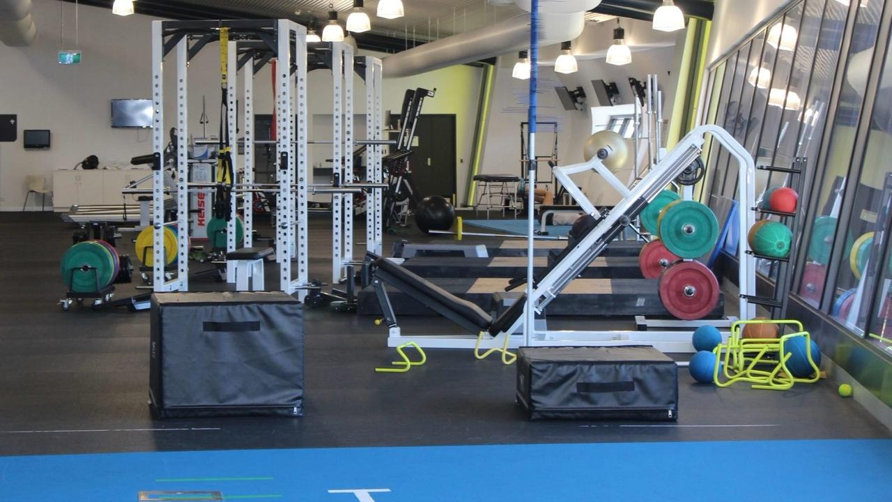 Image of Tennis strength and conditioning gym.