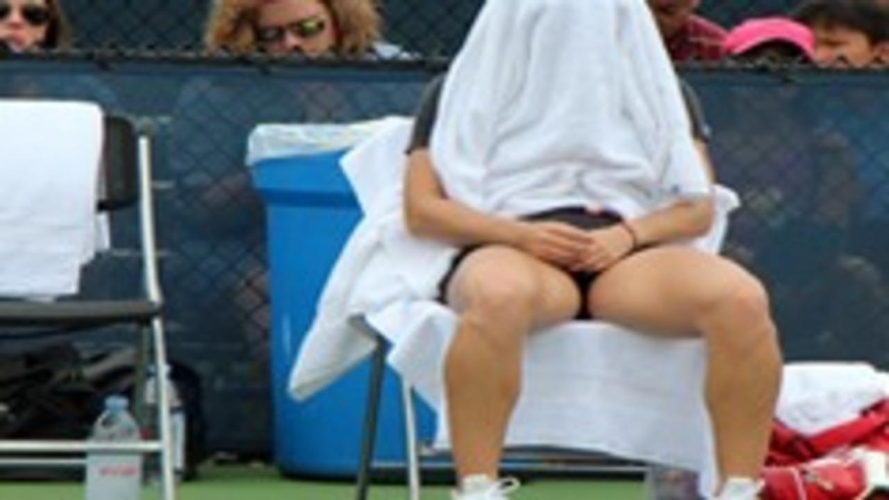 Image of tennis training