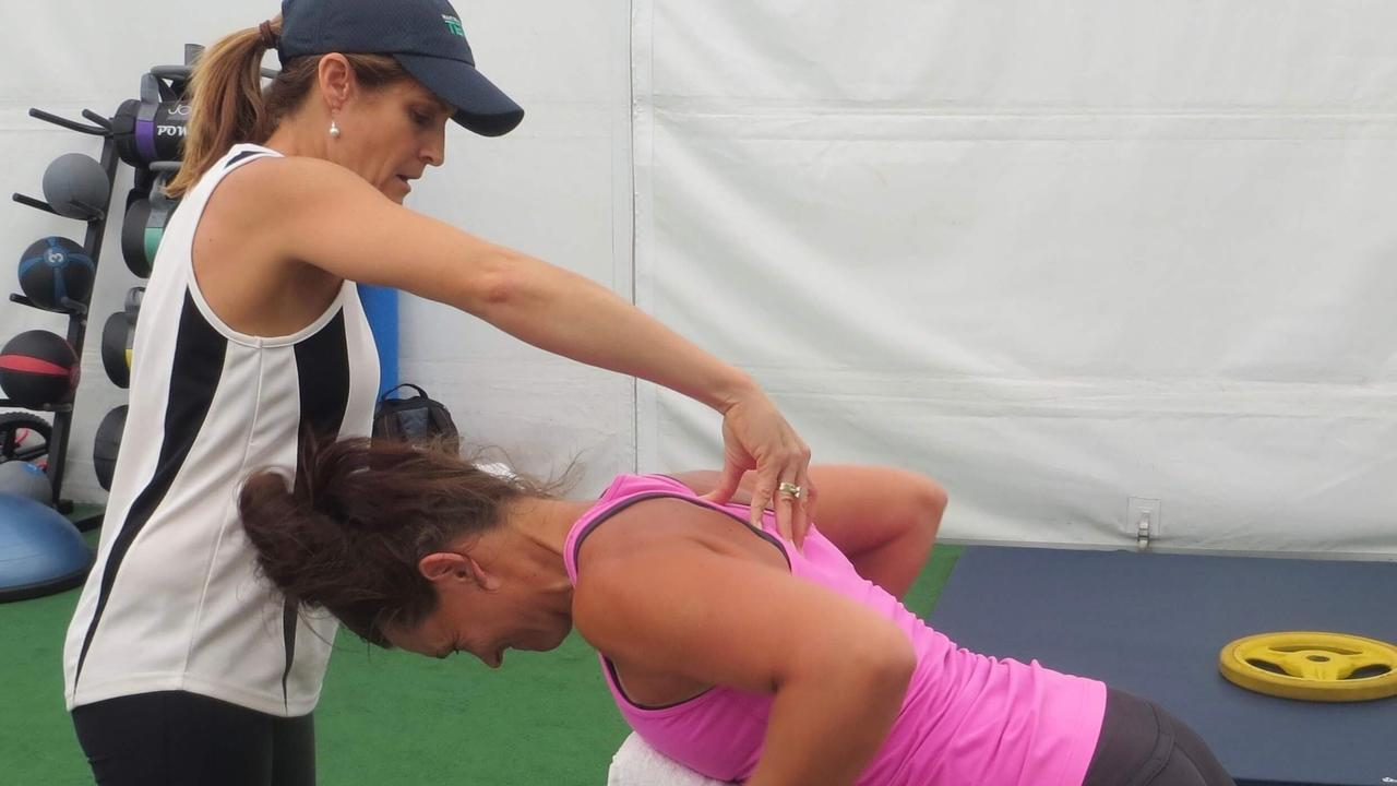 Image of Tennis workout. Tennis strength and conditioning.