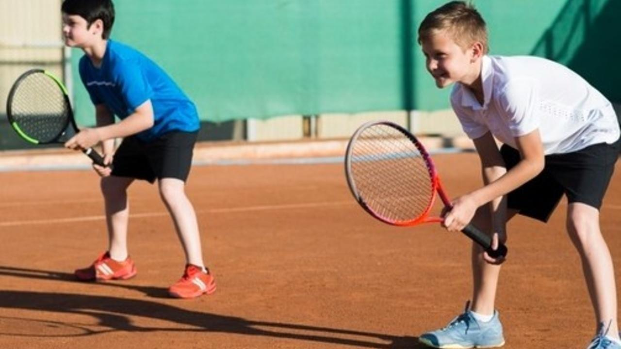 image of tennis drills for kids