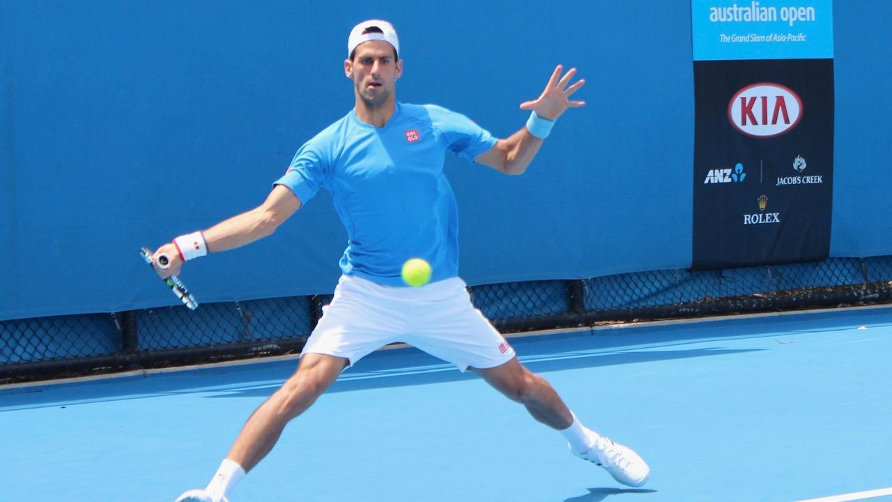 image of tennis agility