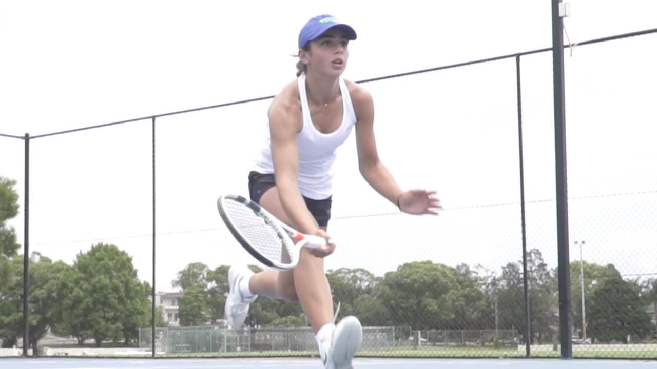 Image of tennis speed and agility