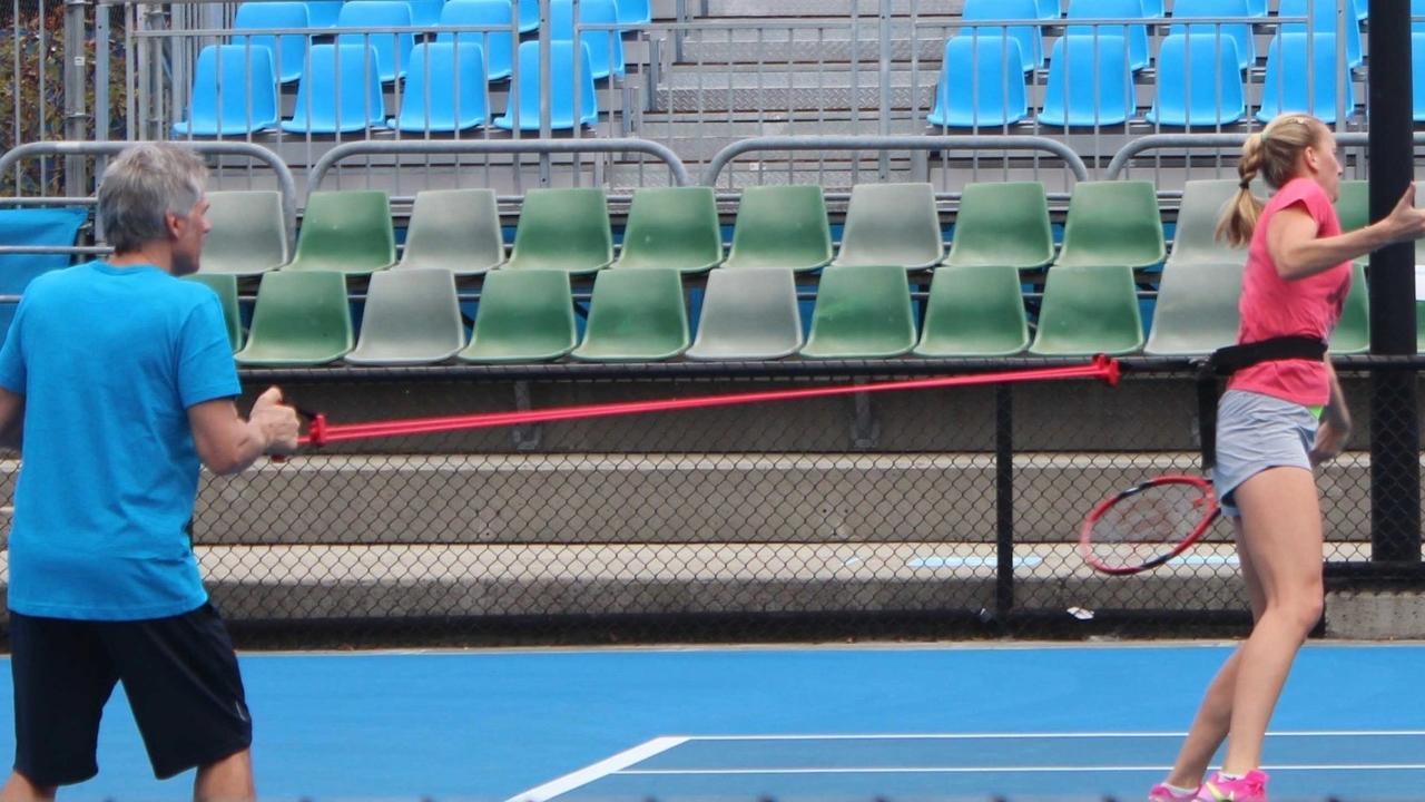 Image of tennis pro
