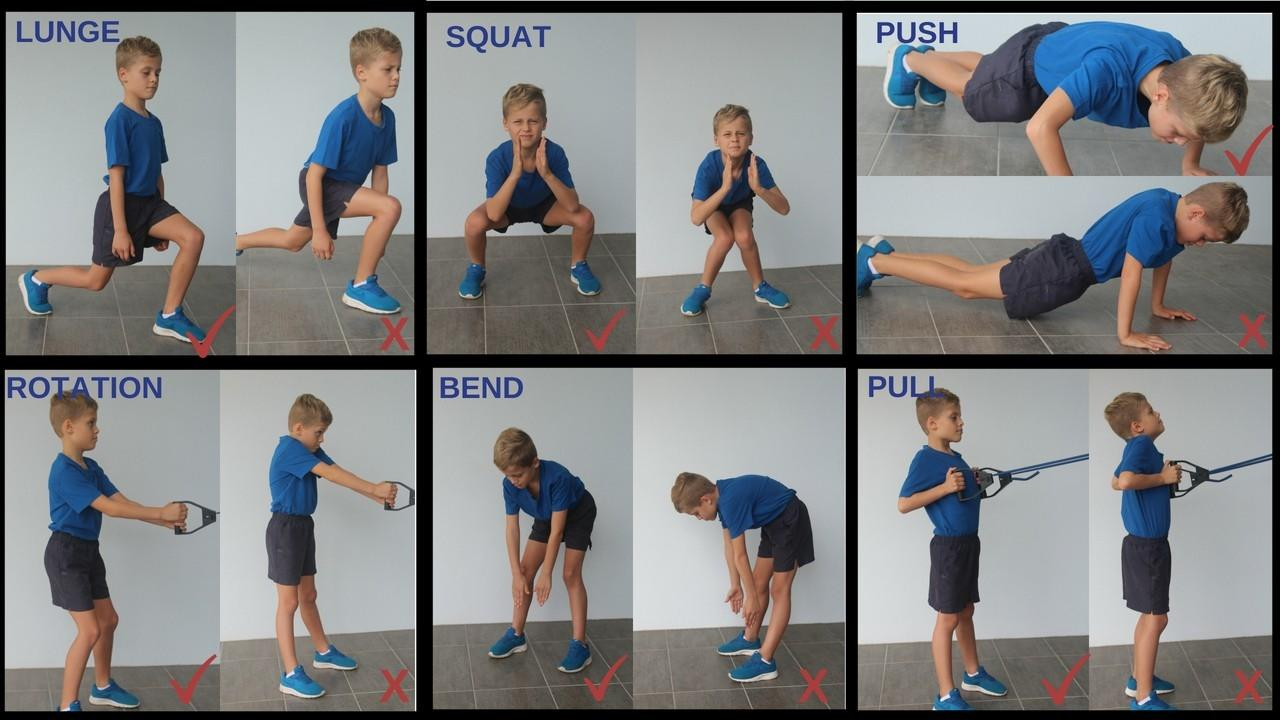Young Players Tennis Strength Training