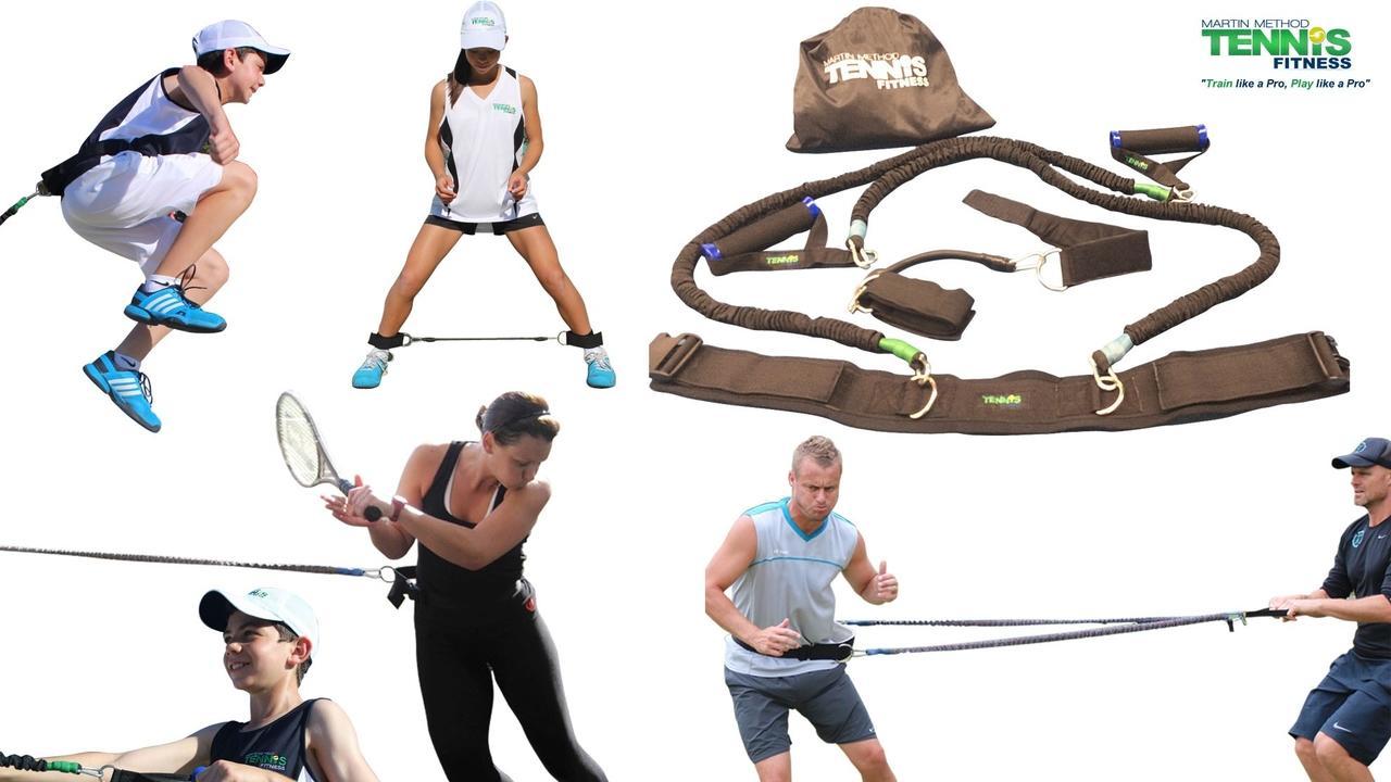 Image of tennis training equipment. Equipment for tennis.
