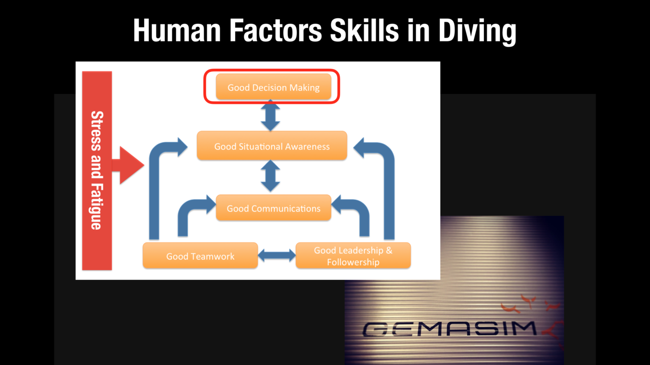 What relevance does Human Factors have to recreational and technical diving?