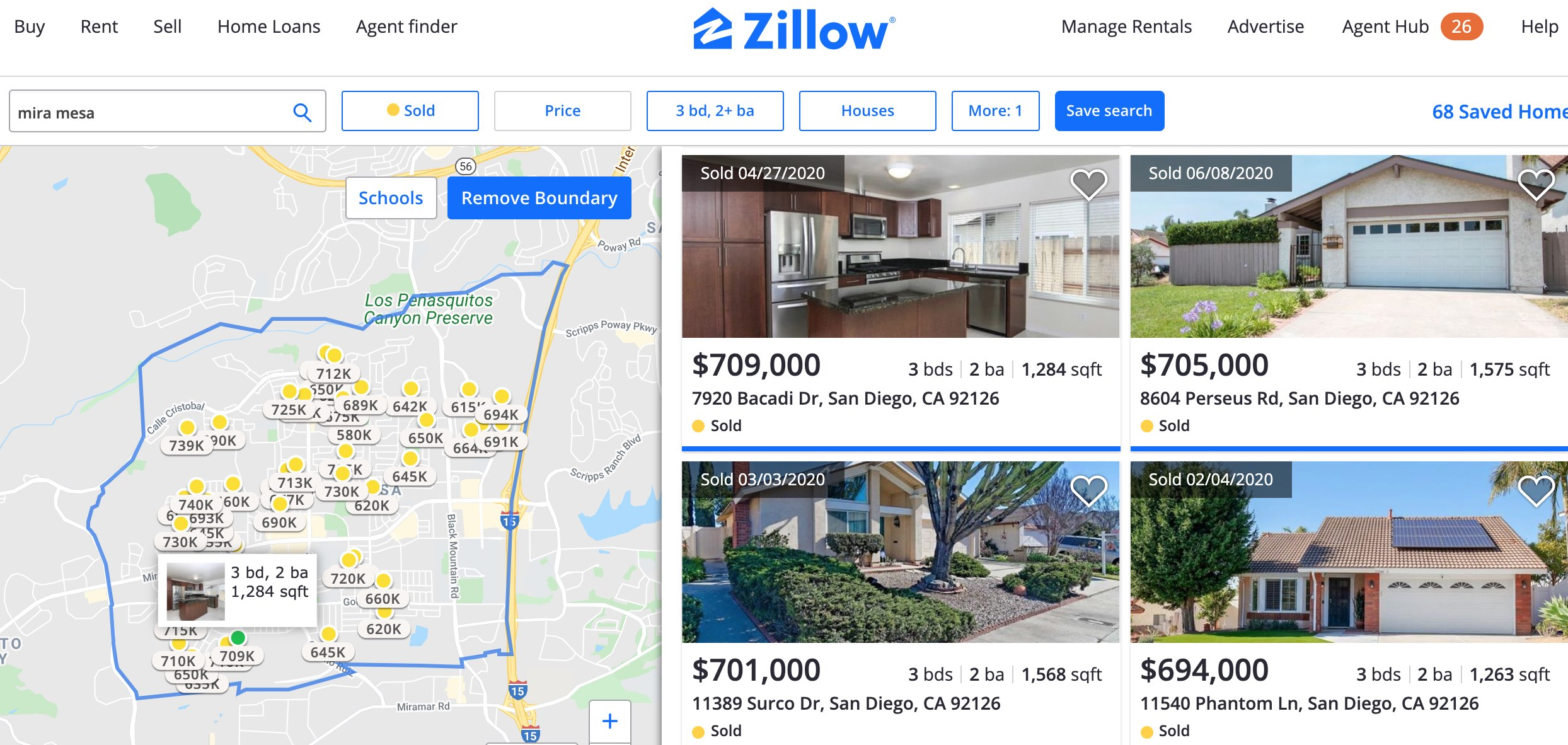 find arv on Zillow