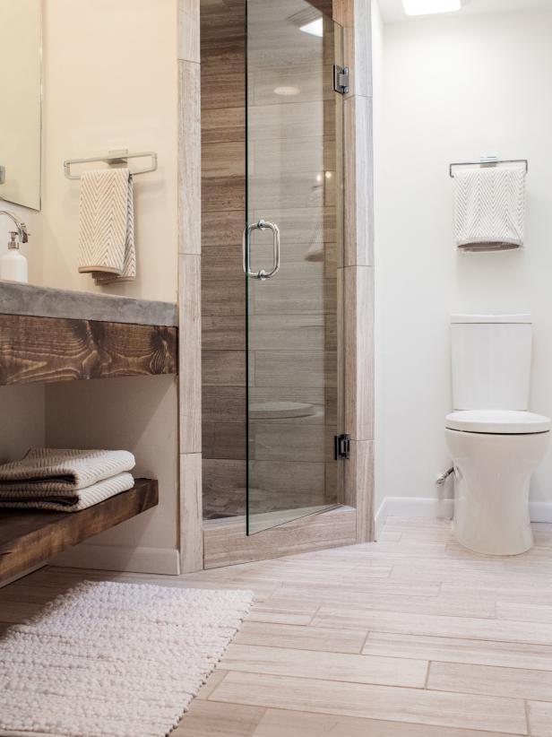 fixer upper bathroom after
