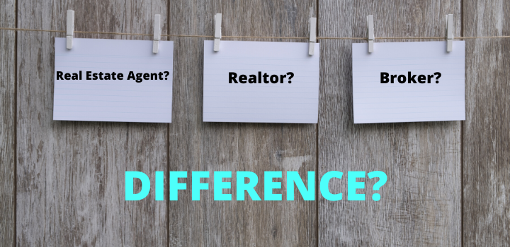 real estate agent vs broker