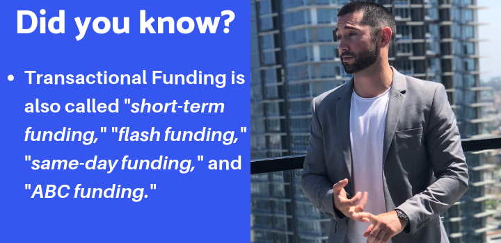 transactional funding facts
