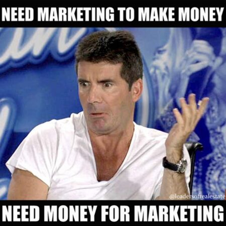 real estate marketing meme