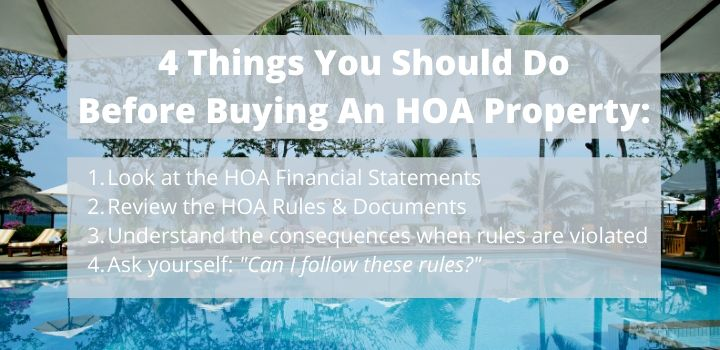 what does hoa mean in real estate