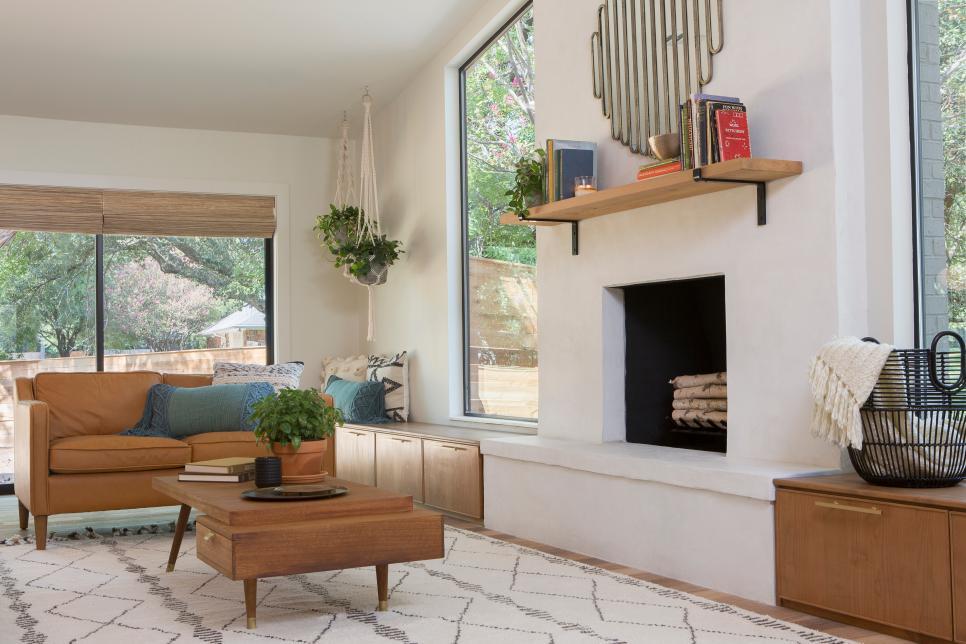fixer upper living rooms after