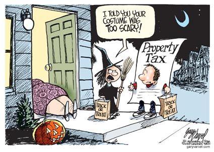halloween real estate meme