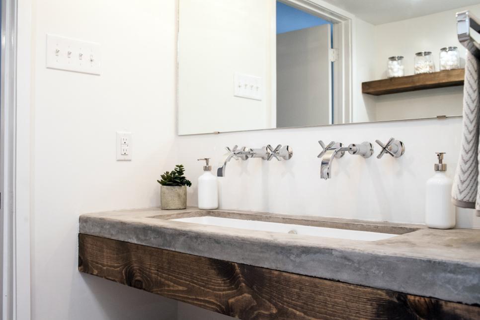 fixer upper bathroom transformation