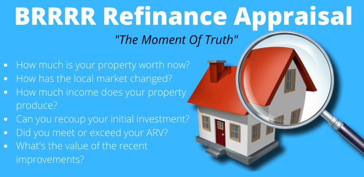 brrrr refinance appraisal