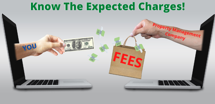 how much do property management companies charge