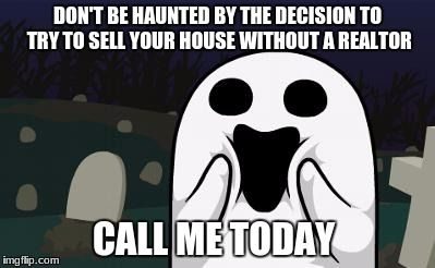 halloween real estate meme