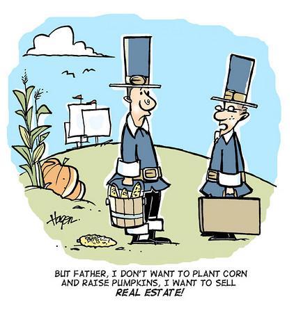 thanksgiving real estate meme