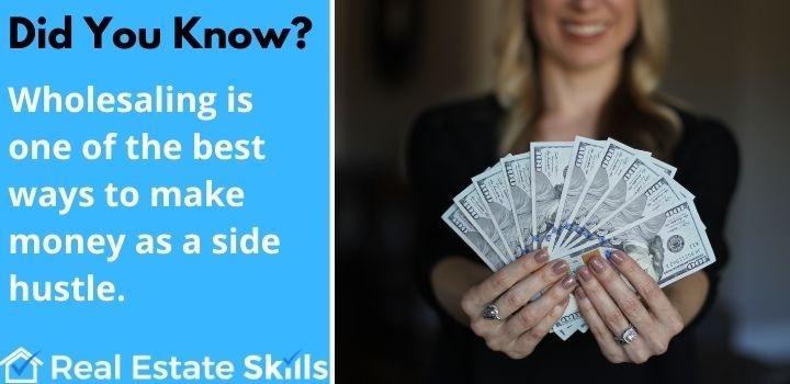 side hustle real estate