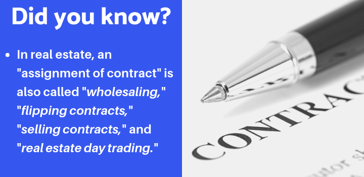 assignment of contract facts