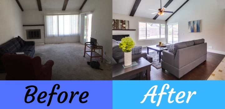 house flip interior remodel
