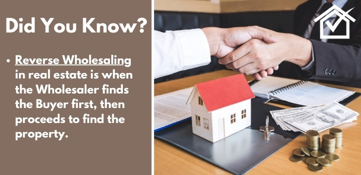 is reverse wholesaling real estate legal