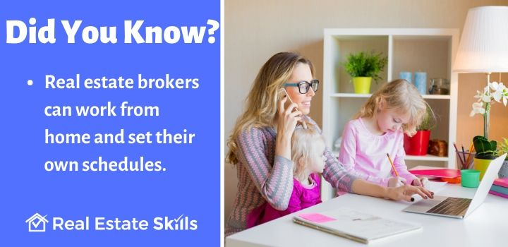 what is a real estate brokers job