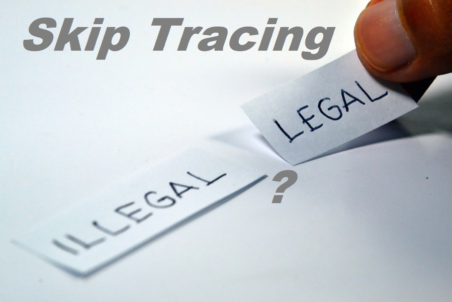 is skip tracing legal