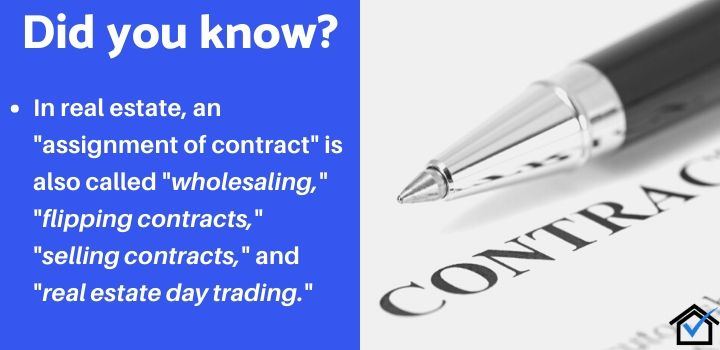 virtual wholesaling assignment of contract