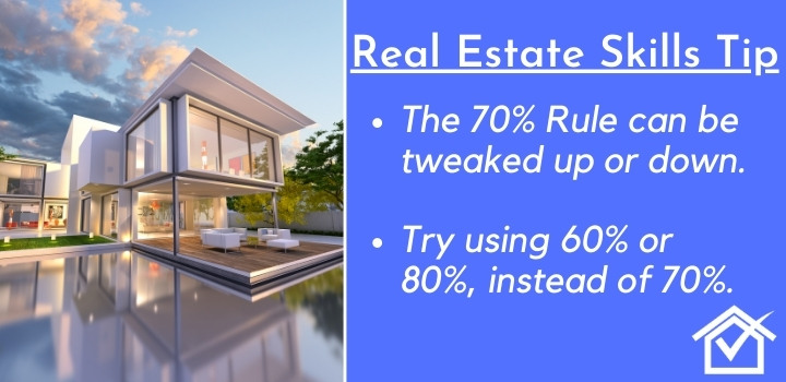 70 rule house flipping