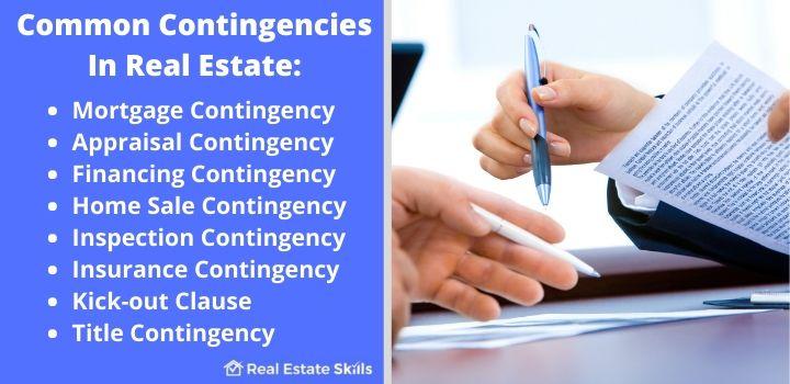 contingencies in real estate