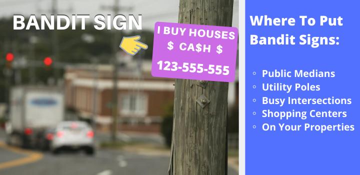 bandit signs
