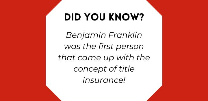 title insurance company benjamin franklin