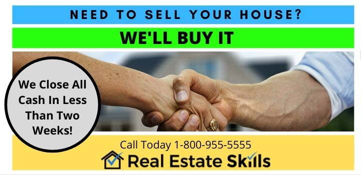 real estate wholesaling postcards example