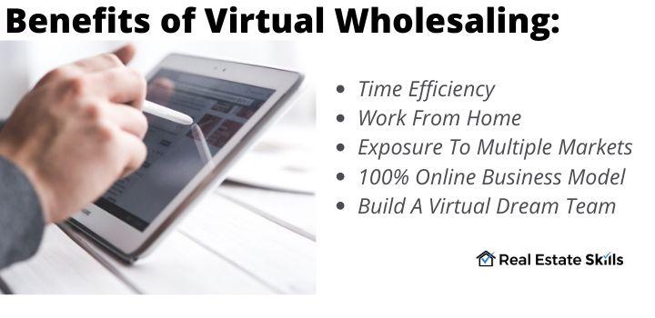benefits of virtual wholesaling