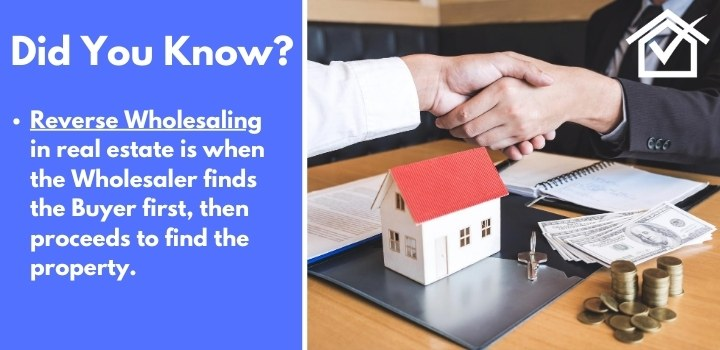 what is reverse wholesaling