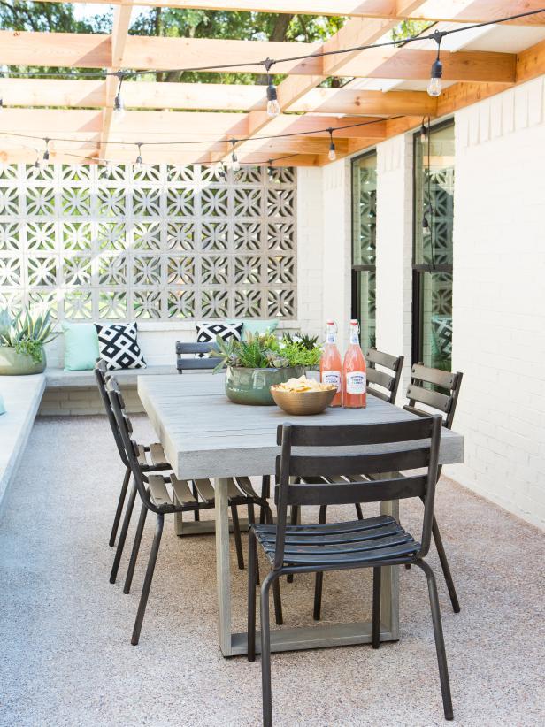 fixer upper patio