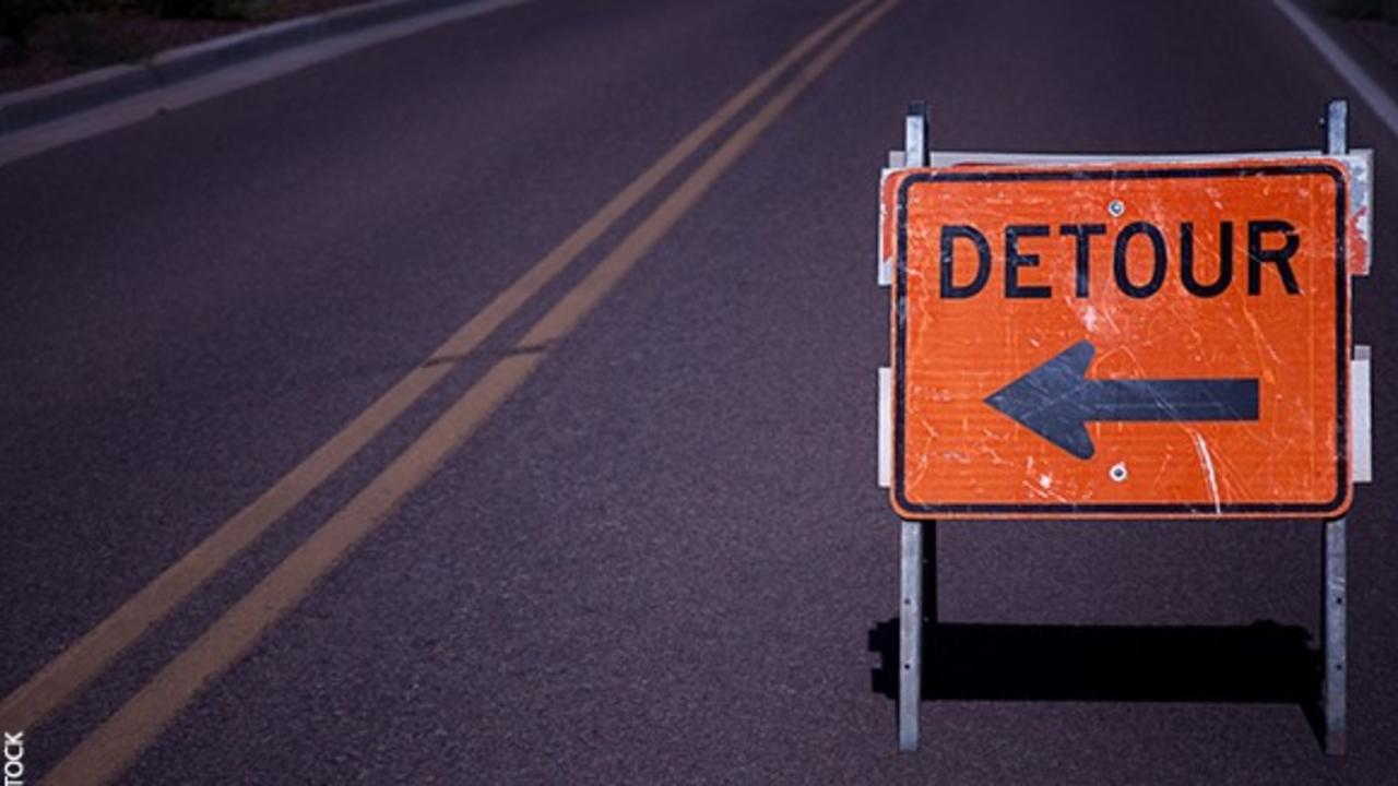 Detour What To Do When Your Training Takes A Detour Detour