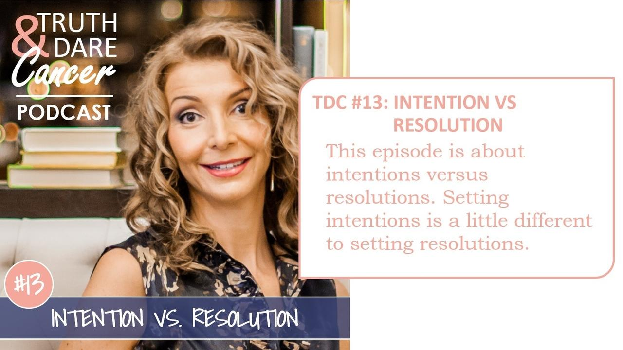 intention vs intentions
