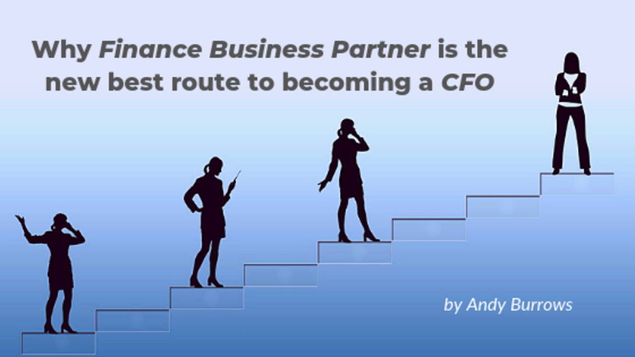 Why Finance Business Partner is the best route to a CFO role